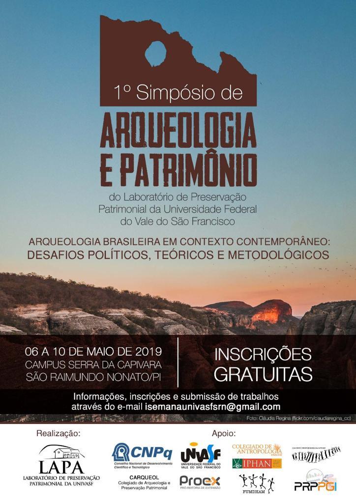 I Simpósio de Arqueologia e Patrimônio