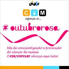 CIM/UNIVASF abraça essa luta!