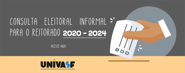 Consulta Eleitoral Informal (CEI) para o Reitorado 2020-2024