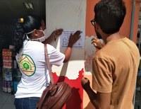 Programa Escola Verde realiza diversas ações de enfretamento à Covid-19