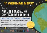 Univasf promove seminários online sobre temáticas da Geografia no contexto da pandemia de Covid-19