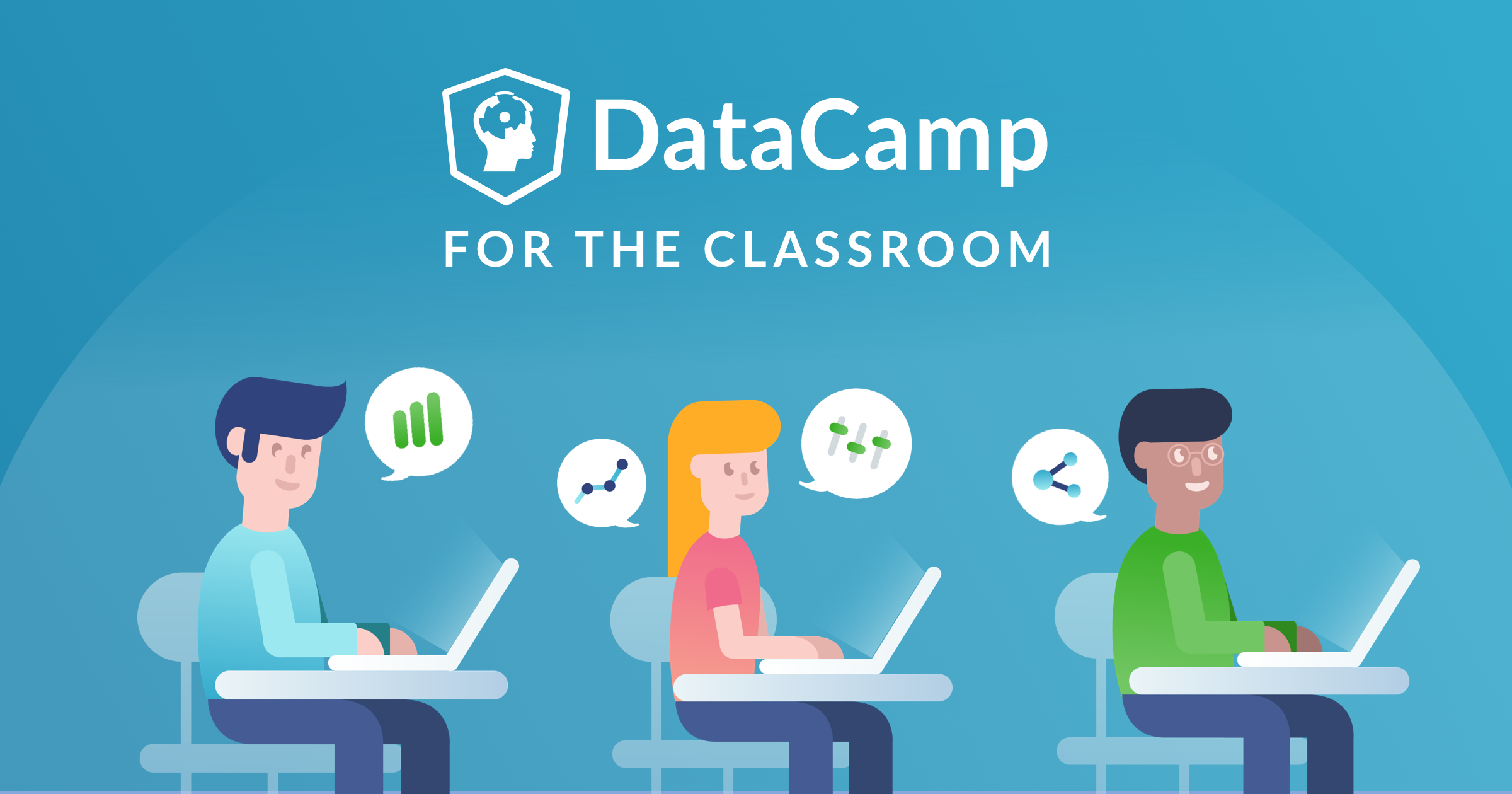 This class is supported by DataCamp, the most intuitive learning platform for data science and analytics. Learn anytime, anywhere and become an expert in R, Python, SQL, and more. DataCamp's learn-by-doing methodology combines short expert videos and hands-on-the-keyboard exercises to help learners retain knowledge. DataCamp offers 325+ courses by expert instructors on topics such as importing data, data visualization, and machine learning. They're constantly expanding their curriculum to keep up with the latest technology trends and to provide the best learning experience for all skill levels. Join over 5 million learners around the world and close your skills gap.