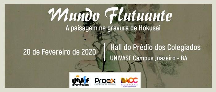 """Campus Juazeiro (BA) da Univasf recebe a exposição """"Mundo Flutuante"""""""