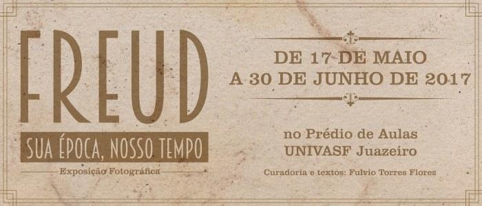 Campus Juazeiro da Univasf recebe exposição itinerante sobre a vida de Sigmund Freud