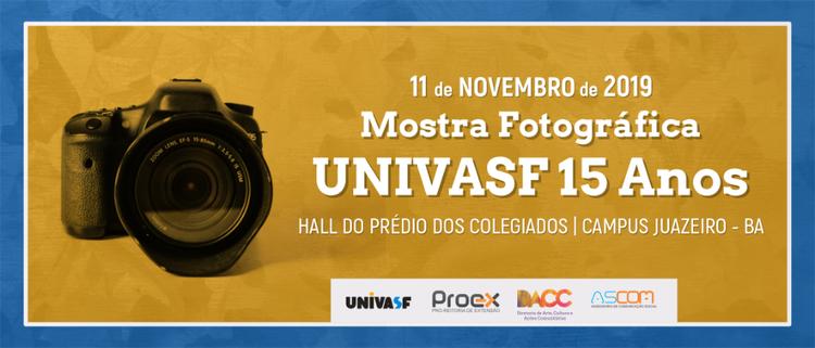 Mostra Fotográfica Univasf 15 Anos inicia temporada no Campus Juazeiro