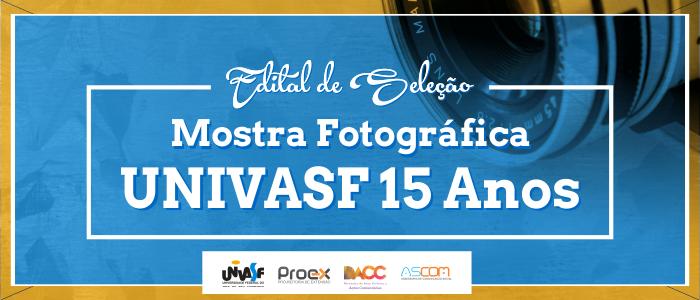 Univasf realiza seleção de fotografias para mostra comemorativa pelos 15 anos da instituição