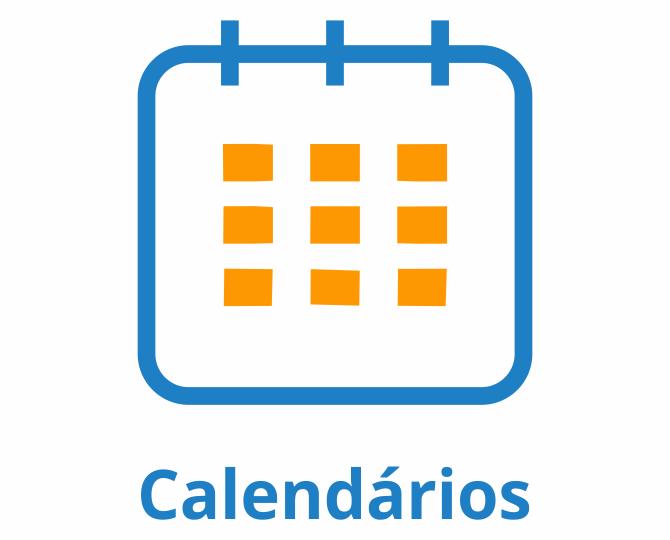 Calendários Institucionais