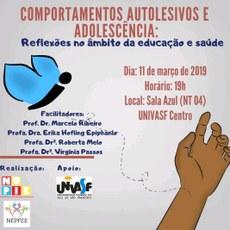 O evento acontecerá nesta segunda-feira (11), no Campus Sede.