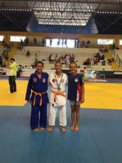 Atletas do projeto de extensão que participaram do Campeonato Brasileiro de Judô Sub-13.