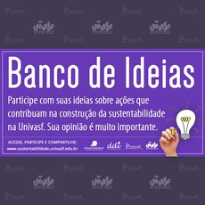 """As ideias sugeridas podem se encaixar em diferentes eixos, como Licitações sustentáveis"""" e """"Construções sustentáveis""""."""
