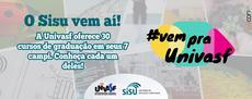 Banner da campanha convida a conhecer os 30 cursos de graduação presenciais oferecidos pela Univasf.