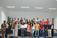 A cerimônia contou com a presença dos graduandos e servidores da Univasf.