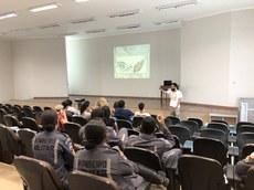 O curso tratou de aspectos teóricos e práticos.