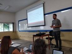 Ítalo Ramon Menezes apresentou o trabalho na Universidade Federal de Pernambuco (UFPE), em Recife (PE)