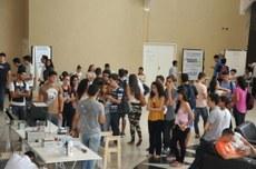 As salas de aula, o Bloco de Artes Visuais e o Complexo Multieventos receberam diversas atividades.