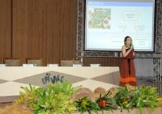 """Sara Soares ministrou, na manhã de hoje, a palestra sobre """"Antioxidantes naturais do Cariri cearense"""""""