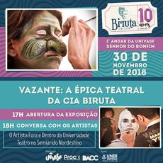 O lançamento da Exposição no Campus Senhor do Bonfim acontecerá nesta sexta-feira (30).
