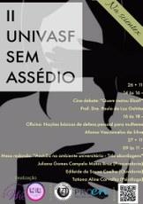 Programação do II Univasf sem Assédio acontece durante a XI Scientex, no Campus Juazeiro.