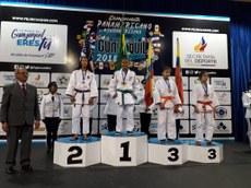 Vivian foi campeã do Campeonato Pan-Americano Sub-13, realizado em novembro.
