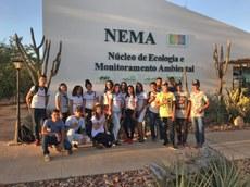 Estudantes da Escola Estadual Monteiro Lobato conheceram o Nema.