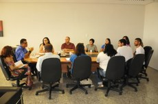 Durante a reunião os estudantes falaram sobre ações que estão sendo planejadas para 2018.