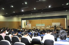 O evento começou ontem (4), no Complexo Multieventos, Campus Juazeiro (BA).