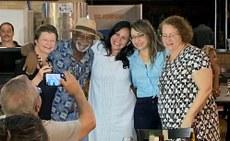 Márcia Bento Moreira (no centro da foto) foi eleita presidente do Fórum das Pós Graduações Interdisciplinares do Brasil para um mandato de dois anos.