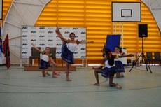 Apresentação de participantes do projeto Gymnações na inauguração do Complexo Esportivo da Univasf em 2015.
