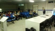 Reunião no Campus Senhor do Bonfim contou com a presença do vice-reitor Telio Nobre Leite.