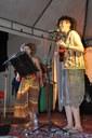 O duo Ópera das Miçangas se apresentou na FACA.