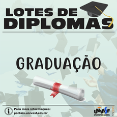 Foram liberados 93 diplomas de graduação.