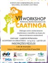 Cartaz do VII Workshop Potencial Biotecnológico da Caatinga
