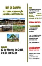 A programação contará com a apresentação de oito sistemas de produção animal agroecológica.
