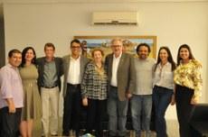 Esta foi a primeira visita de José Bites à Univasf.