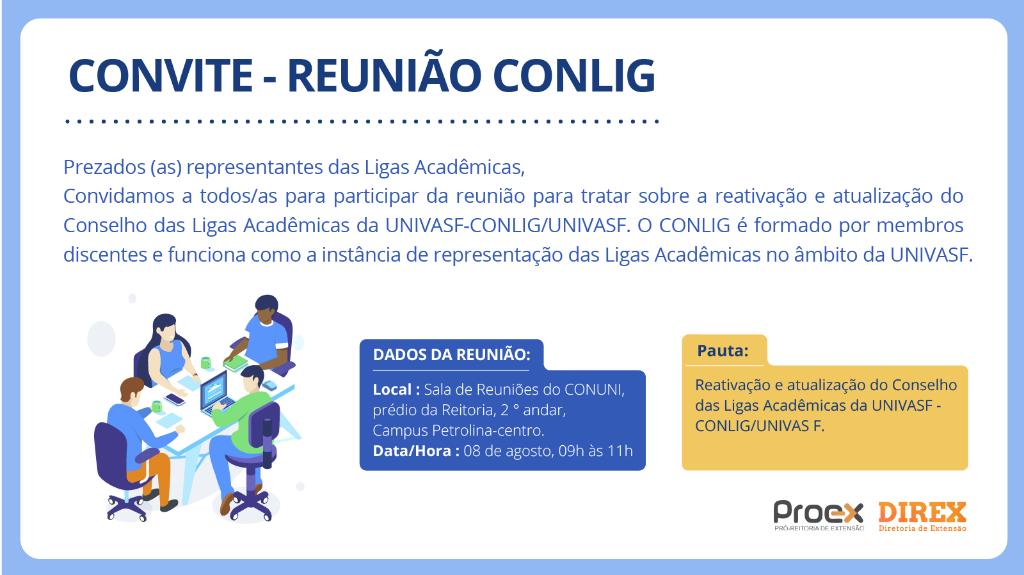 Convite -  Reunião CONLIG