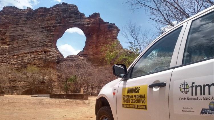 Pedra Furada Parque Nacional da Serra da Capivara–PI