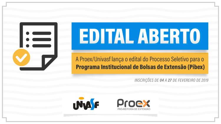 Edital PIBEX 2019-2020