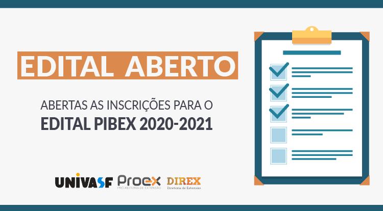 Edital PIBEX 2020-2021