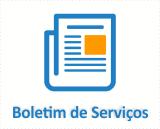 Boletim de serviços
