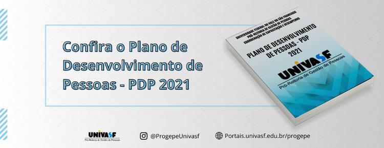 Progepe divulga o Plano de Desenvolvimento de Pessoas - PDP 2021