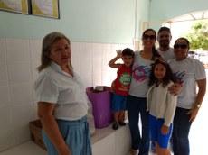 Uma das cinco instituições contempladas pela ação foi a Fundação Lar Feliz.