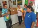 A Apae de Petrolina também recebeu a doação de alimentos.