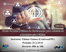 O curso será realizado no Campus Sede, em Petrolina.