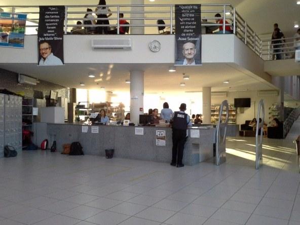 Recepção Biblioteca Petrolina
