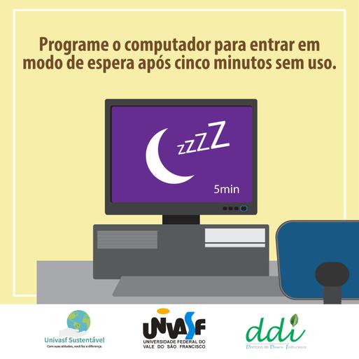 Campanha Univasf Sustentável 2016 - Computador