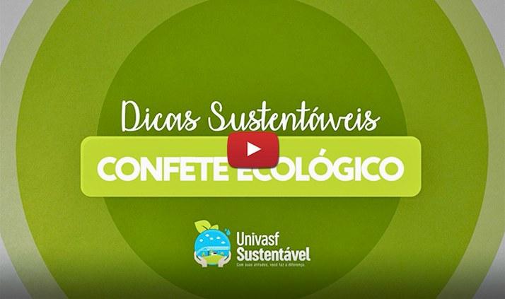Faça você mesmo: Confete Ecológico!