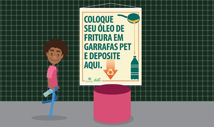Univasf Sustentável lança animação sobre a Coleta de Óleo nos campi da Univasf, assista!