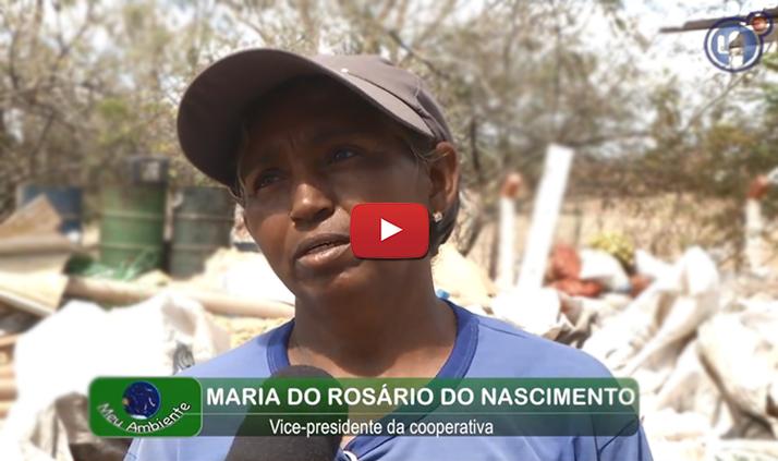 Confira a reportagem da TV Caatinga sobre a nossa ação no descarte de resíduos na Univasf