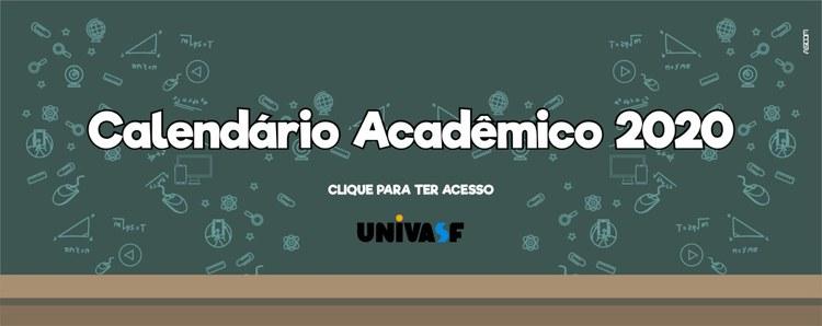 Univasf divulga calendário acadêmico para semestres 2020.1 e 2020.2